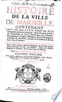 Histoire de la ville de Marseille