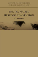 The 1972 World Heritage Convention