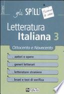 Letteratura italiana 3