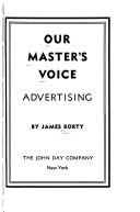 Our Master s Voice  Advertising