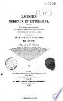 Loisirs médicaux et littéraires
