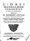 Usdasi Mandaljene pokornize u spilli od Marsiglje