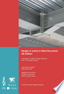 Design of Joints in Steel Structures