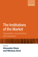 The Institutions of the Market