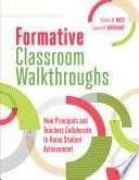 Formative Classroom Walkthroughs