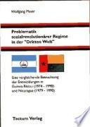 """Problematik sozialrevolutionärer Regime in der """"Dritten Welt"""""""