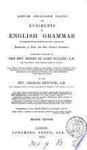 Lingu   Anglican   clavis  or  Rudiments of English grammar  ed  by C  Heycock