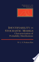 Identifiability In Stochastic Models