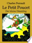 illustration Le Petit Poucet (Français Allemand édition bilingue)