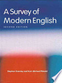 A Survey of Modern English