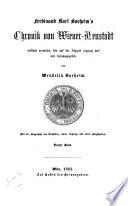 Ferdinand Karl Boeheim's Chronik von Wiener-Neustadt