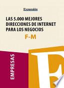 Sectores F M   Las 5 000 mejores direcciones de internet para los negocios