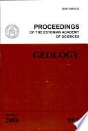 Proceedings of the Estonian Academy of Sciences  Geology