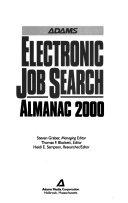 Adams Electronic Job Search Almanac