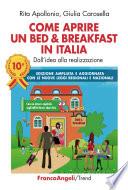 Come aprire un bed   breakfast in Italia