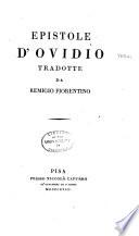 Collezione di ottimi Scrittori Italiani in supplemento ai Classici Milanesi  Epistole