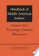 Handbook Of Middle American Indians Volumes 2 And 3