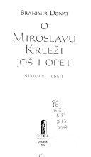 O Miroslavu Krleži još i opet
