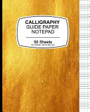 Calligraphy Guide Paper Notepad