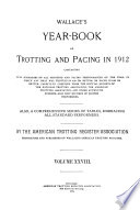 Year Book  Trotting and Pacing