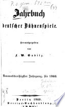 Jahrbuch deutscher Bühnenspiele