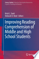 Improving Reading Comprehension of Middle and High School Students