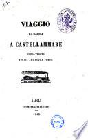 Viaggio da Napoli a Castellammare con 42 vedute incise all'acqua forte [di Francesco Alvino]