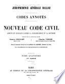 Nouveau Code civil