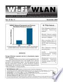 Wi-Fi/WLAN Monthly Newsletter November 2009