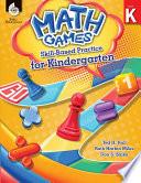Math Games Skill Based Practice For Kindergarten