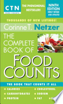 The Complete Book Of Food Counts 9th Edition