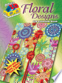 3 D Coloring Book  Floral Designs