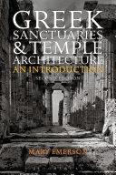 Greek Sanctuaries and Temple Architecture