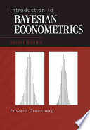 Introduction to Bayesian Econometrics And Shows How Subjective Probabilities Must Obey