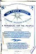 The Truth Seeker in Literature  Philosophy  and Religion