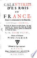 Galanterie des rois de France
