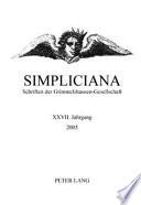 Simpliciana XXVII 2005
