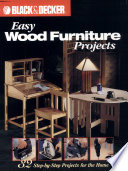 Black & Decker Easy Wood Furniture Projects