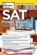 SAT Power Vocab  2nd Edition