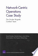 Network centric Operations Case Study
