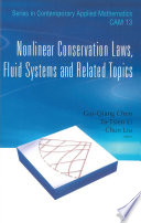 Nonlinear Conservation Laws  Fluid Systems and Related Topics