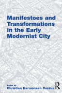 download ebook manifestoes and transformations in the early modernist city pdf epub