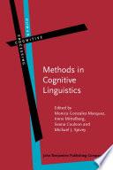 Methods in Cognitive Linguistics