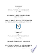 Yearbook of Varna University of Management