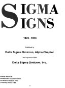 Sigma Signs