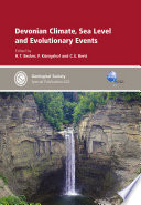 Devonian Climate  Sea Level and Evolutionary Events