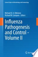 Influenza Pathogenesis And Control