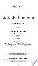 Tídindi frá Alþíngi Íslendínga