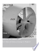 Ducted Fan Design, Volume 1