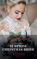 The Greek's Surprise Christmas Bride Book Cover